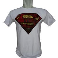 Promo SR Distro Kaos T-Shirt Distro Premium Superman Murah