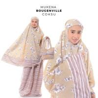 Jual Mukena Dewasa Rayon Bali Bougenville - Hijau Semen Diskon