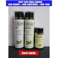 PAKET OLIVE 3 IN 1 HAIR CARE TREATMENT (SHAMPO, CONDITIONER, TONIC)