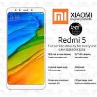Xiaomi Redmi 5 3/32GB - Garansi TAM