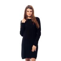 POLO RALPH LAUREN - COTTON KNIT DRESS Black PY0900008