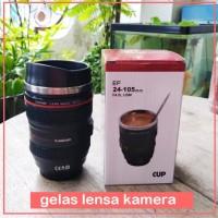 Mug Gelas Model Lensa Kamera Lens Zoom Camera