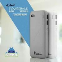 Powerbank Hippo ILo F2 11000 mAh Real Capacity Original Garansi Resmi