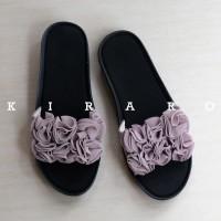 KIRARO - Wedges Sandal Selop Wanita Lucu KBSBR02