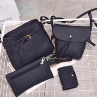 BACKPACK / Tasya Bag Set (4 In 1) / Tas Selempang