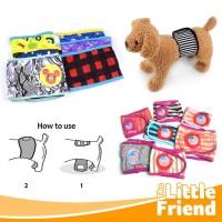 Belly Belt Band/Ikat Pinggang Marking/Popok Celana untuk Anjing Jantan