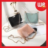 [WE238] NEW ARRIVAL Tas Selempang Transparan / Double Sling Bag Korea
