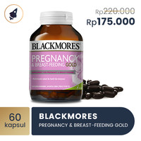 Blackmores Pregnancy & Breast - Feeding Gold (60)