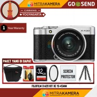 Kamera Fujifilm x-a20 kit 15-45mm Paket