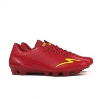 Sepatu Bola Specs Accelerator Exocet FG - Dark Red / Zest Green