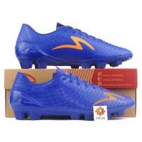 Sepatu Bola Specs Accelerator Exocet FG - Deep Blue / Mango Orange