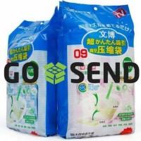 Baru Vakum Bag Pakaian Wenbo / Vacum Plastic Storage / Vacuum Plastik