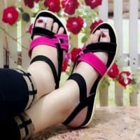 Baru Sandal Wanita Sepatu Sendal Wanita Tali Warna Bukan Carvil Murah