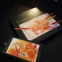 Faber Castell Polychromos Color Pencils Tin of 24 Pensil Warna