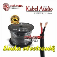 KABEL SPEAKER CRIMSON 2 X 1.5MM PANJANG 100 M