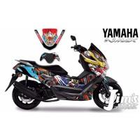 DECAL STICKER MOTOR YAMAHA NMAX GUNDAM EDITIONS