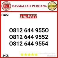 Nomor Cantik Simpati 11 digit seri 0812 644 9550 9552  Ps03