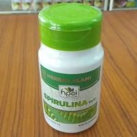 Spirulina Ganggang Alga Algae Biru Hijau HNI HPAI Anti Anemia Masker