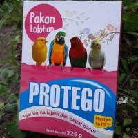 pakan lolohan hand feeding PROTEGO 450gram untuk burung parkit dll