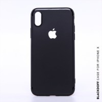 FOR IPHONE X - ORIGINAL BLACKDOFF SLIM CASE SOFTCASE SILICON - IPHONE X