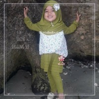 Uliya Legging Set - Baju Muslim Balita Kekinian - Busana Pesta 1-2thn