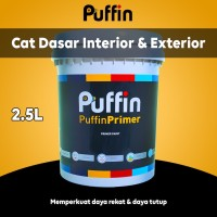 Cat dasar exterior Puffin Primer 2.5L alkali sealer