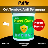 Cat Tembok Anti Serangga Puffin insectguard 1kg cat tembok interior