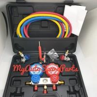 Manifold Set Box Komplit AC Mobil