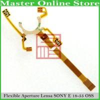 Kabel Flex Flexible Aperture Lensa Kamera Sony Alpha Nex E Mount 18-55