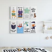 Dekorasi Kamar anak hiasan dinding kids home decor Poster anak - MDF KIDS 27