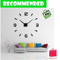 Jam Dinding Raksasa DIY 80-130cm Diameter - 12s003