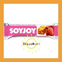 SoyJoy Strawberry/ Snack Sehat / Diet Bar / Biskuit sehat 30g
