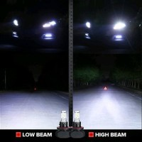 Headlight Lampu Utama LED Mobil H4 With Imported CSP Chips 4 B12hb563