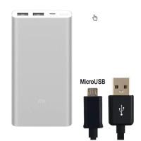Original 10000mah Xiaomi Mi Power Bank 2 External Battery Bank 18w Qui