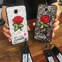 Rose Case Samsung Galaxy C7 C5 C9 Pro A7 A5 A3 2017 J5 J7 Prime 2017