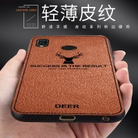 Soft Case Shockproof Motif Relief Rusa Xiaomi Redmi Note 5 Pro 4 4x 6A