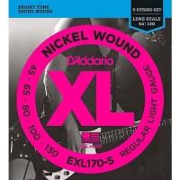 Senar Bass D'addario 5 String EXL170-5