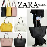 "Tas wanita Zara original tote bag set dompet"""