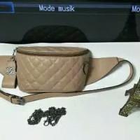 "tas wanita chanel pinggang/tas selempang punggung/tas branded import"""