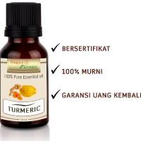 Happy Green Turmeric Essential Oil (10 ml) Minyak Atsiri Kunyit Murni
