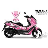 DECAL STICKER MOTOR YAMAHA NMAX HELLO KITTY EDITIONS