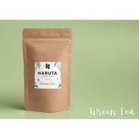 Masker bubuk organik Green Tea 50 gram masker wajah Teh hijau