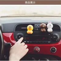 Parfum Pengharum Mobil Bentuk Brown/Cony/Sally Karakter Line