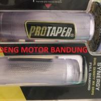 Handfat Bening Protaper Karet Handle Grip Putih Clear Motor Universal
