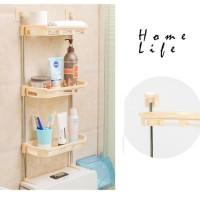 toilet rack 3 susun R311 - rak kamar mandi - rak sabun - tempat sabun