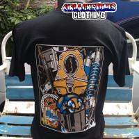 kaos racing NGO aksesoris Thailook NGO biker distro