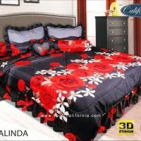 California - Bed Cover King Set Rosalinda