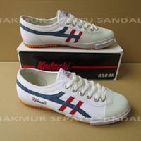 Sepatu Capung - Kodachi 8172 - Putih lis Navy Merah