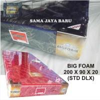 BIG FOAM 200 X 90 X 20 (STD DLX) KASUR