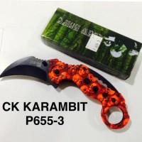PISAU LIPAT KERAMBIT CK P655-3 KARAMBIT IMPORT SOG P655 SURVIVAL KIT